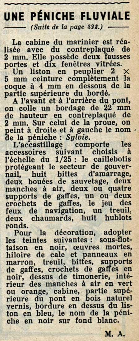 peniche sylvie plan systeme D des années 50 (origine. stab) Penich11