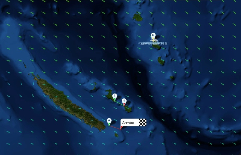 NEW CALEDONIA - GROUPAMA RACE 2016 sur LS Prolgr10