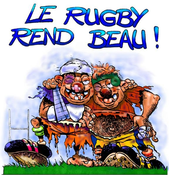 Dessin humour Rugby10