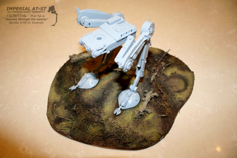 """Imperial AT-ST """"Journey through the swamp"""" (BANDAI) [WIP] - Page 3 2110"""