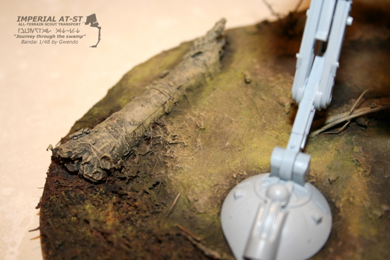 """Imperial AT-ST """"Journey through the swamp"""" (BANDAI) [WIP] - Page 3 2210"""