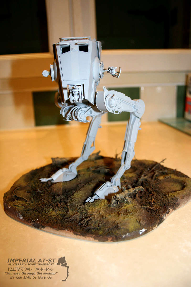 """Imperial AT-ST """"Journey through the swamp"""" (BANDAI) [WIP] - Page 3 2310"""