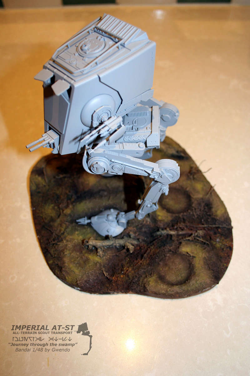 """Imperial AT-ST """"Journey through the swamp"""" (BANDAI) [WIP] - Page 3 2410"""