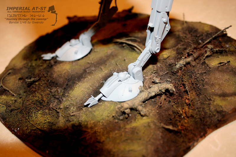 """Imperial AT-ST """"Journey through the swamp"""" (BANDAI) [WIP] - Page 3 2510"""
