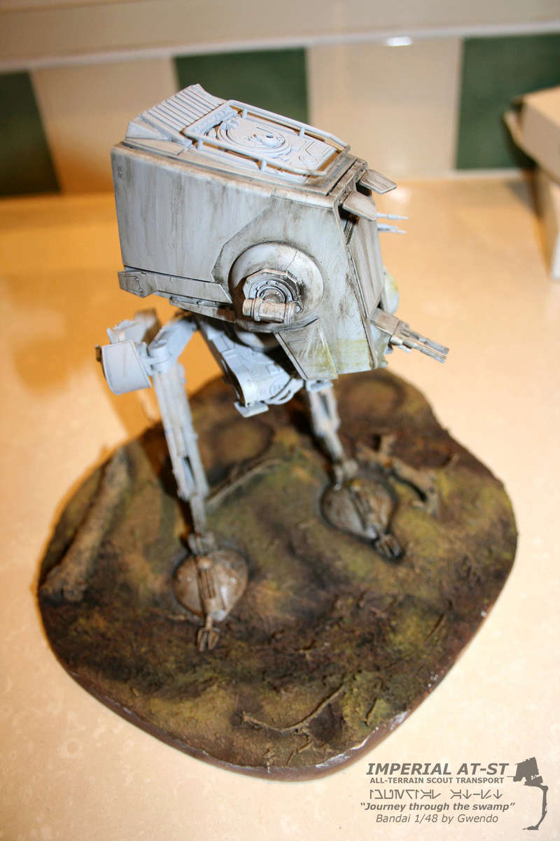"""Imperial AT-ST """"Journey through the swamp"""" (BANDAI) [WIP] - Page 3 2610"""