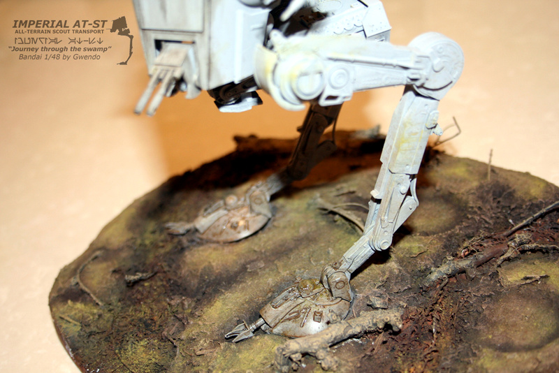 """Imperial AT-ST """"Journey through the swamp"""" (BANDAI) [WIP] - Page 3 2810"""