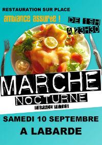 Marché nocturne à Labarde le 10/09/2016 13987410