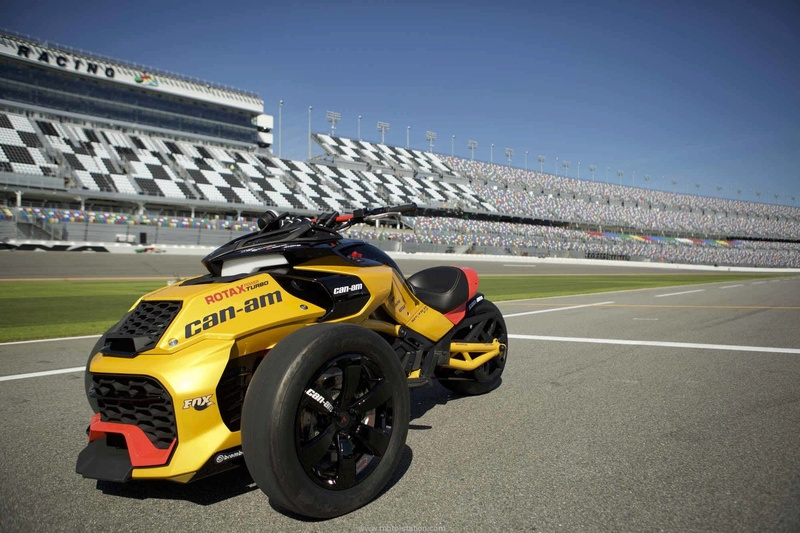 Can Am 2017 : Spyder F3-S Daytona 500 Canam-10