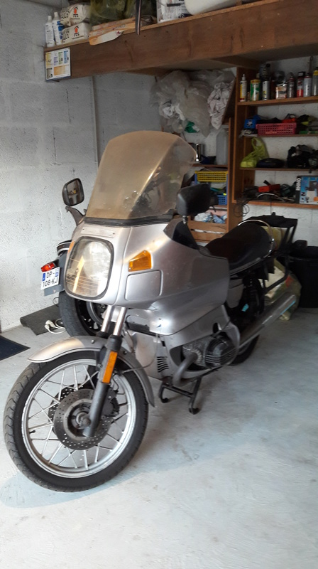 Ma première BM est dans le garage, réno presque terminée ! 20160718