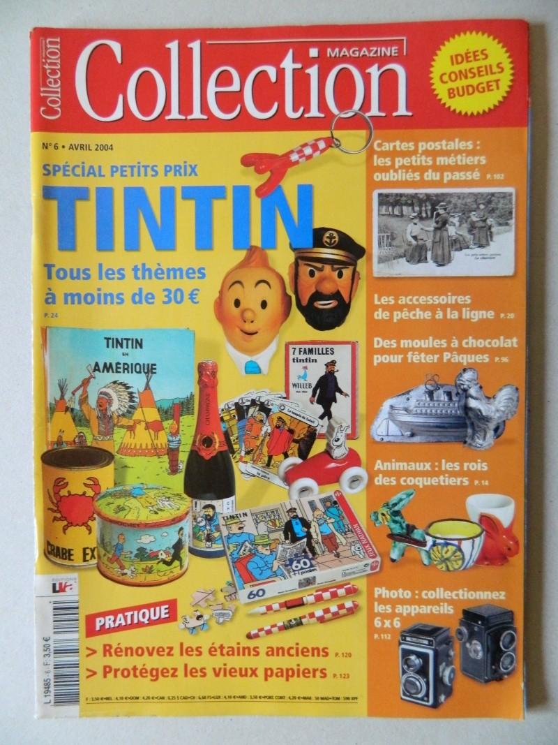 Ma Collection d'objets de Tintin Dscn6822