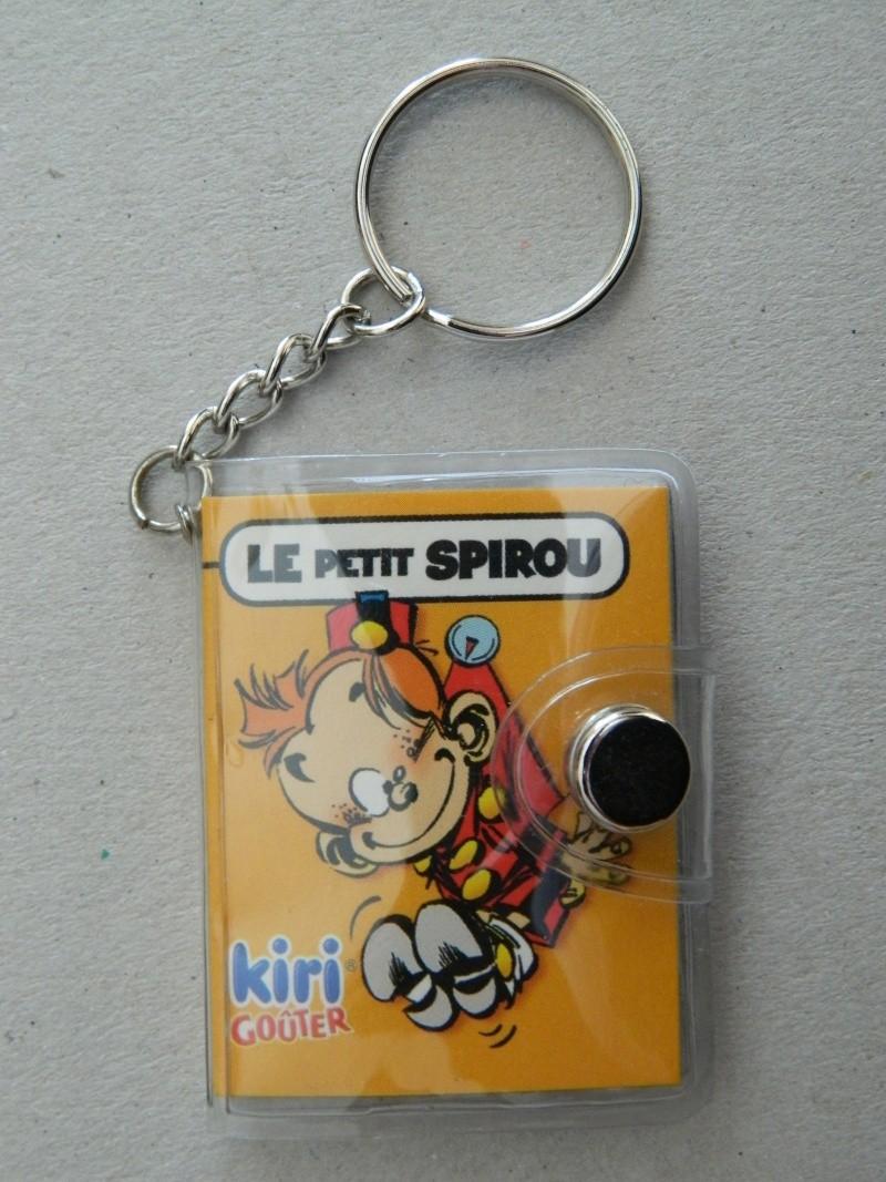 La Petite Collection d'objets du P'tit Spirou, de Spirou et de Marsupilami Dscn7310