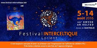 FESTIVAL INTERCELTIQUE DE LORIENT  5 AU 14 AOUT  2016  Tylych99