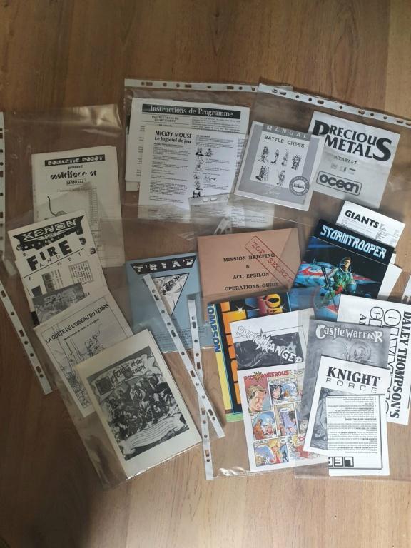 """[ESTIM] Notices """"neuves"""" Atari ST 20210410"""