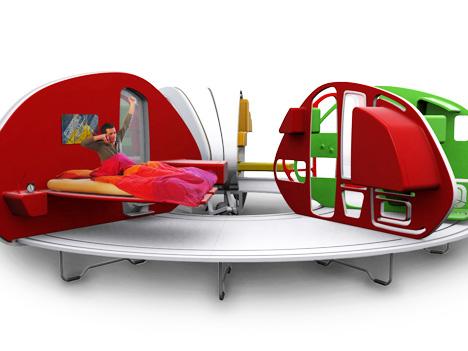 252 Living Area un design surprenant  Camper12