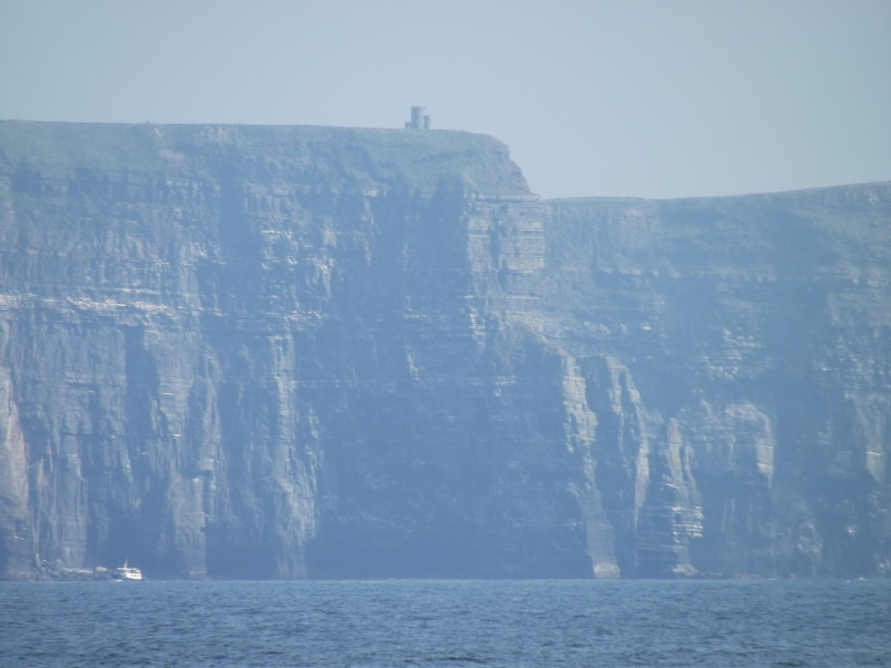 Cliffs of Moher and Inisheer Island ( one of the Aran islands) Dscf1726