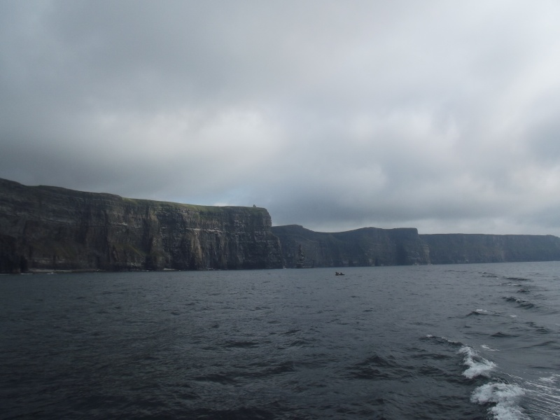 Cliffs of Moher and Inisheer Island ( one of the Aran islands) Dscf1815