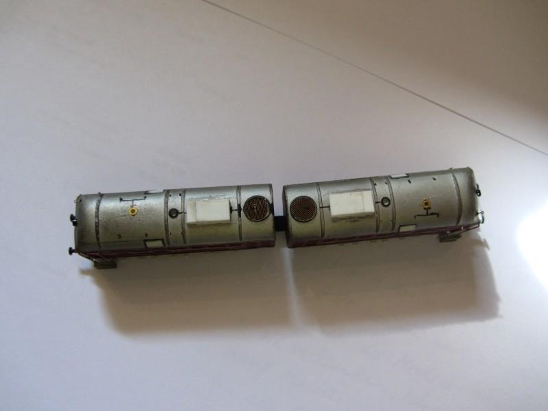 Frisur einer Kleinserien V188 Spur N V188-012