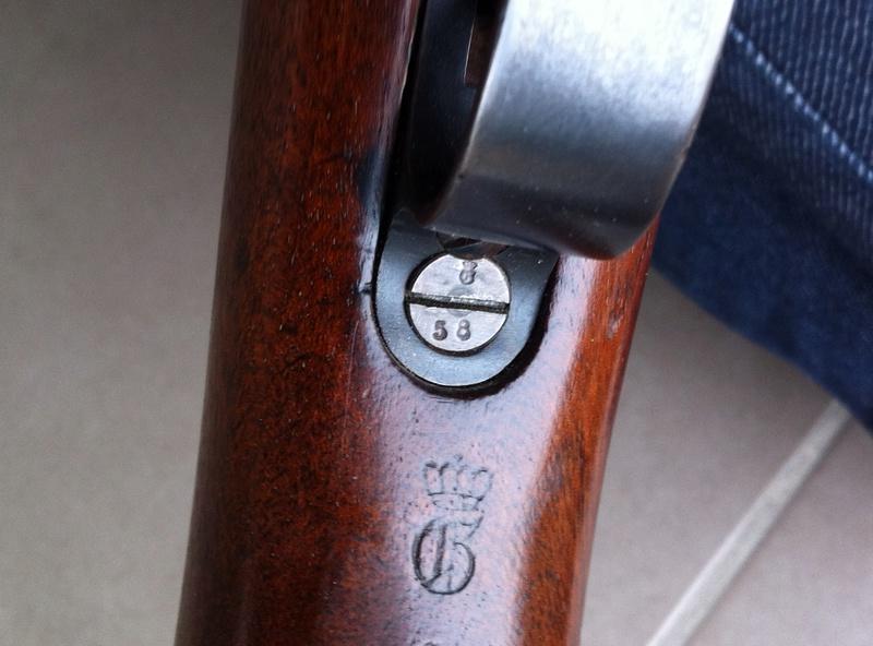 valeur relative des Gewehr 98 selon l'année  Img_3617
