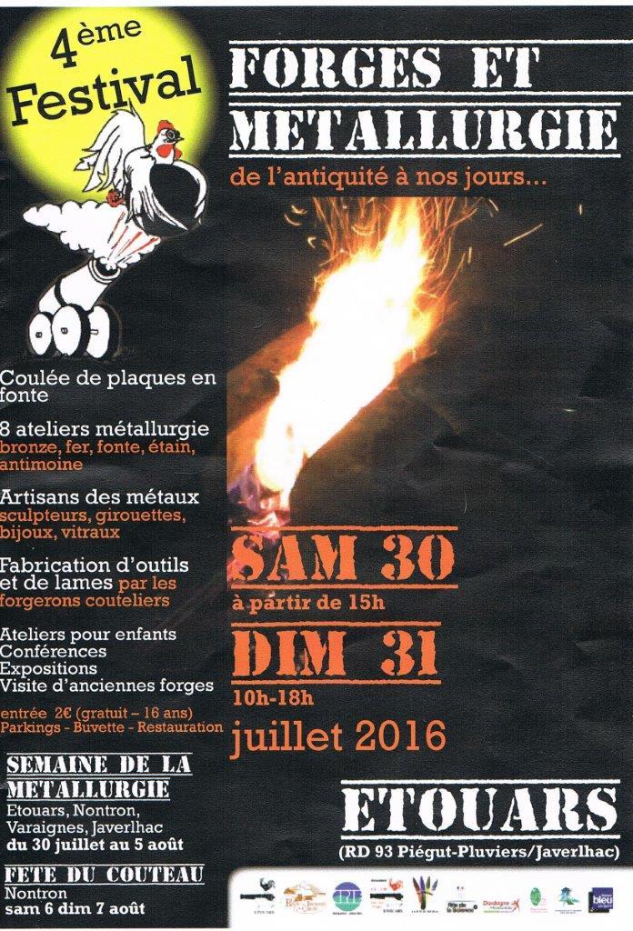 4ème Festival Forges et Métallurgie 30 et 31 juillet à Etouars Sans_t22