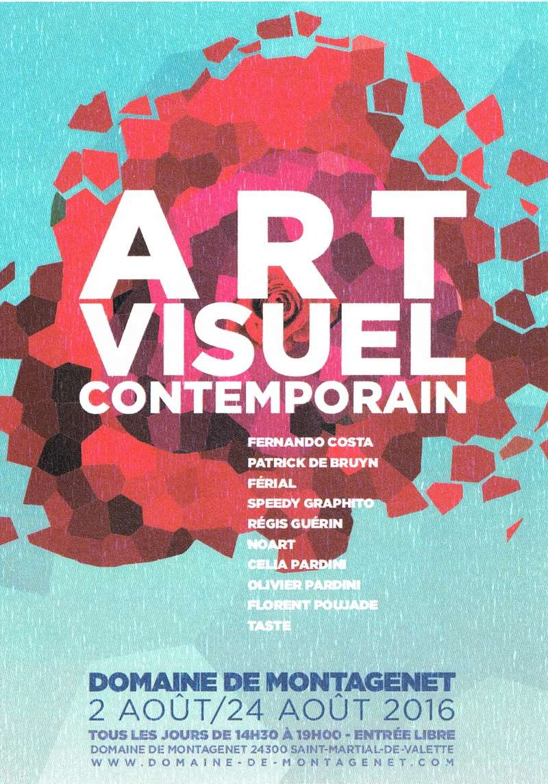 Art Visuel Contemporain du 2 août au 3 septembre 2016 St-Martial de Valette Sans_t38