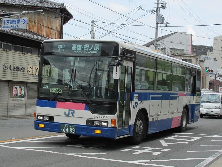 [2016年の夏][京都市] 西日本JRバス Img_7912