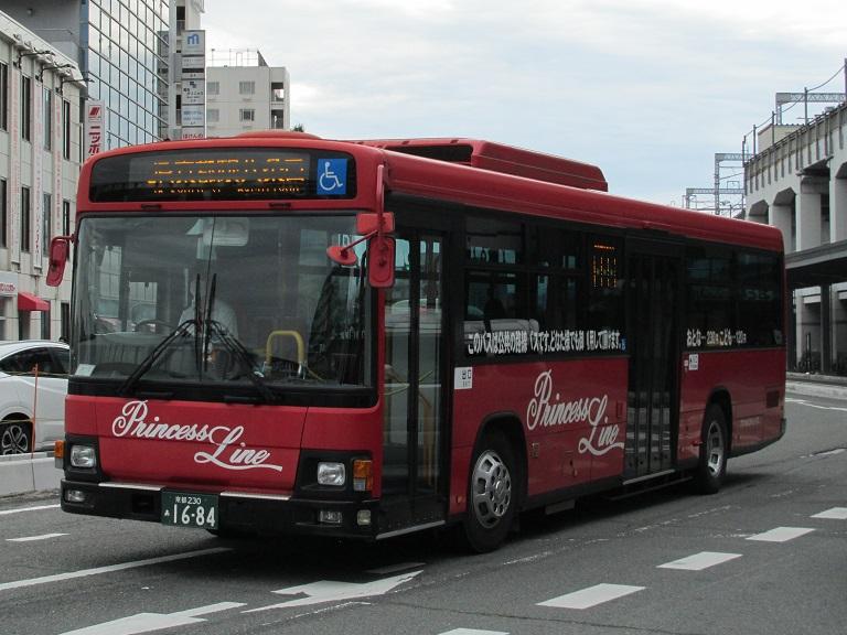 [2016年の夏][京都市] 京都急行バス Img_9112