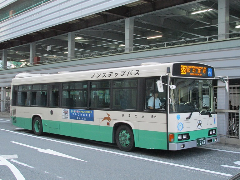 [2016年の夏][奈良市] 奈良交通 Part2103