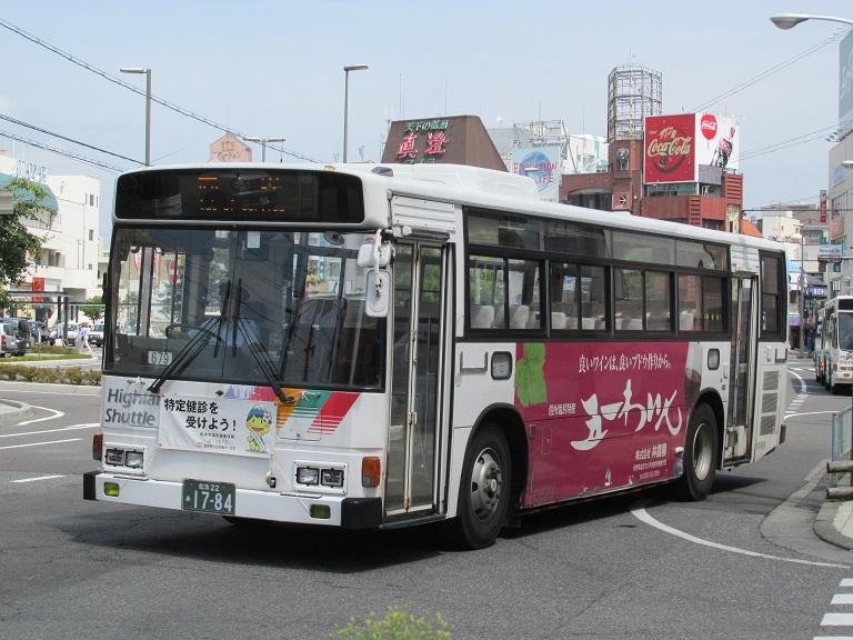 [2016年の夏][松本市] アルピコ交通 Phot1017