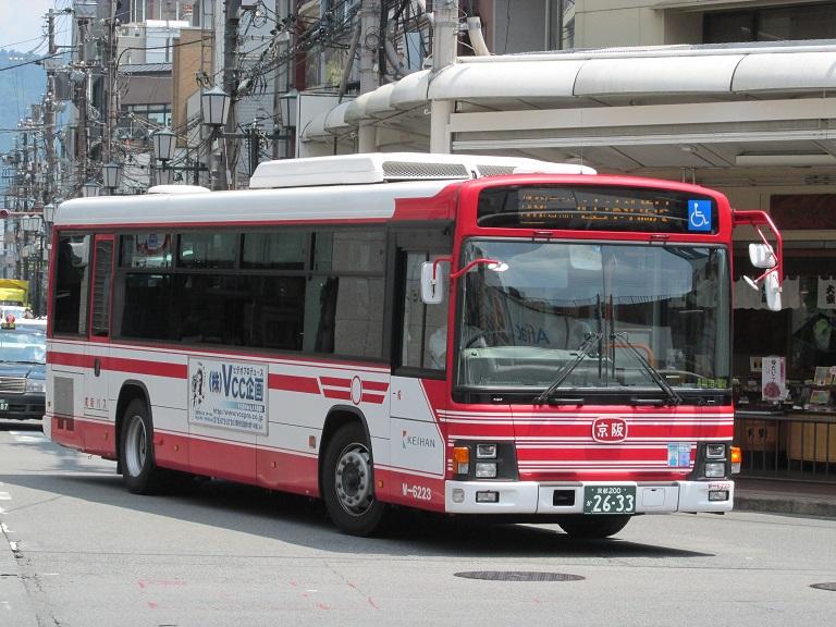 [2016年の夏][京都市] 京阪バス Phot1020