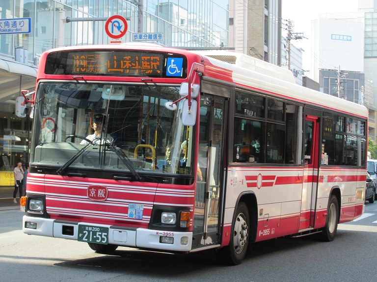 [2016年の夏][京都市] 京阪バス Phot1022