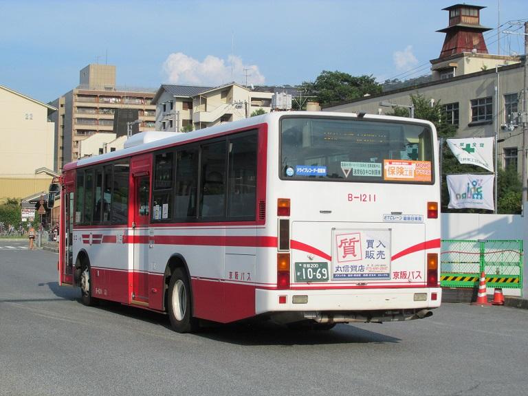 [2016年の夏][京都市] 京阪バス Phot1026