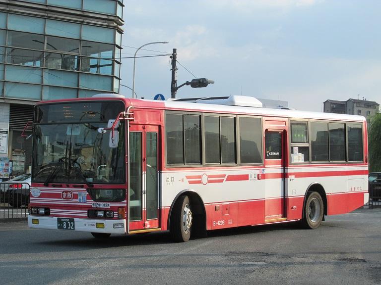 [2016年の夏][京都市] 京阪バス Phot1030