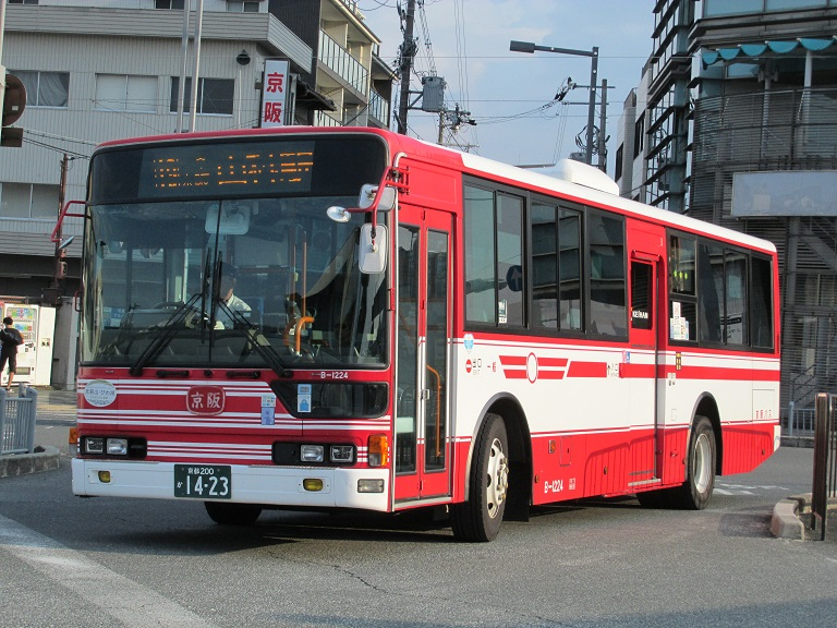 [2016年の夏][京都市] 京阪バス Phot1031