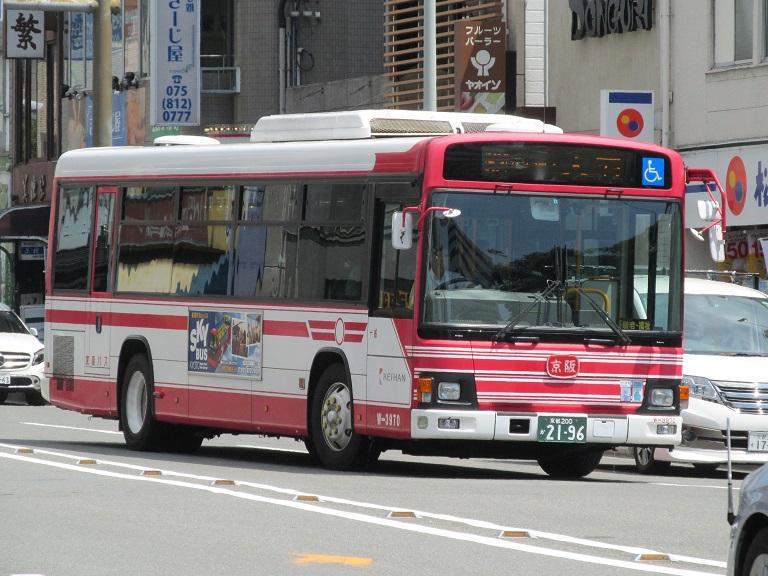 [2016年の夏][京都市] 京阪バス Phot1034