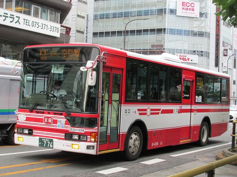 [2016年の夏][京都市] 京阪バス Phot1040