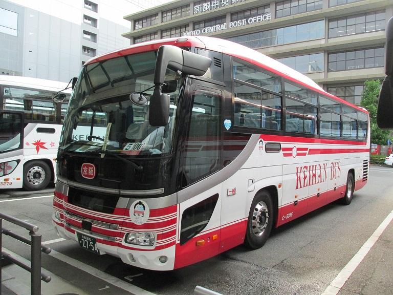 [2016年の夏][京都市] 京阪バス Phot1042