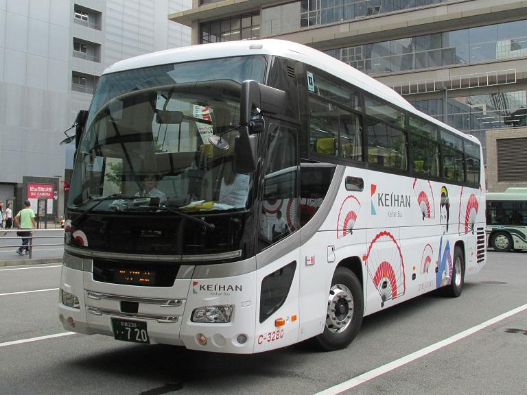 [2016年の夏][京都市] 京阪バス Phot1045