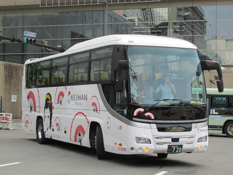 [2016年の夏][京都市] 京阪バス Phot1047