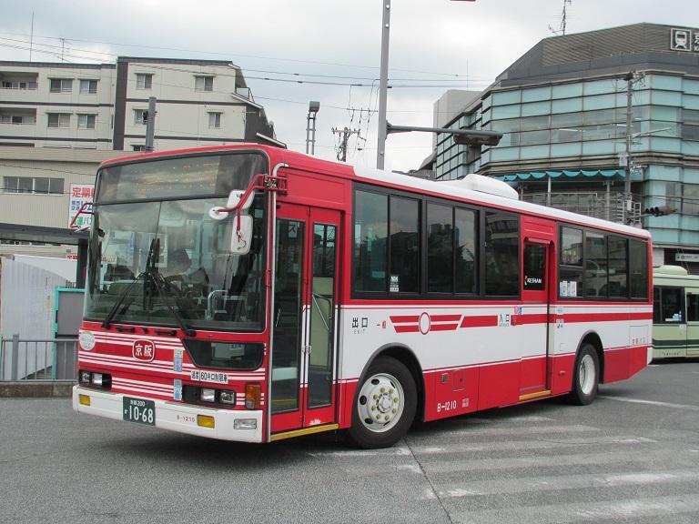 [2016年の夏][京都市] 京阪バス Phot1053