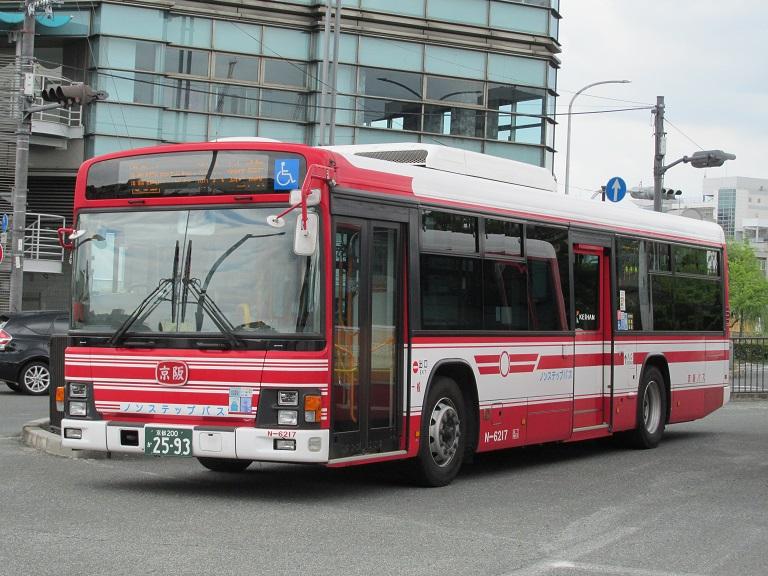 [2016年の夏][京都市] 京阪バス Phot1058