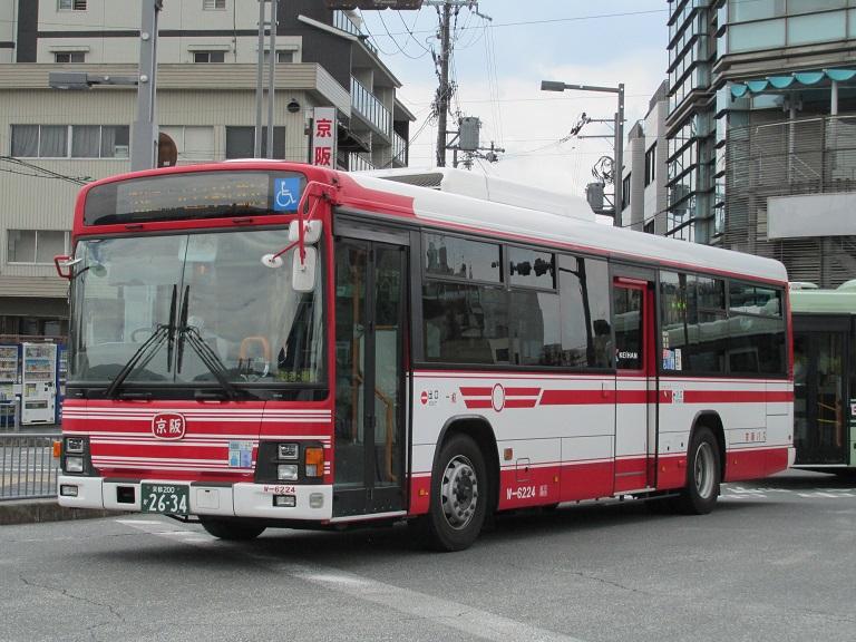 [2016年の夏][京都市] 京阪バス Phot1062