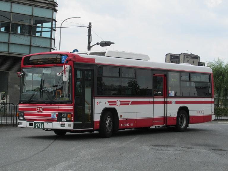 [2016年の夏][京都市] 京阪バス Phot1063