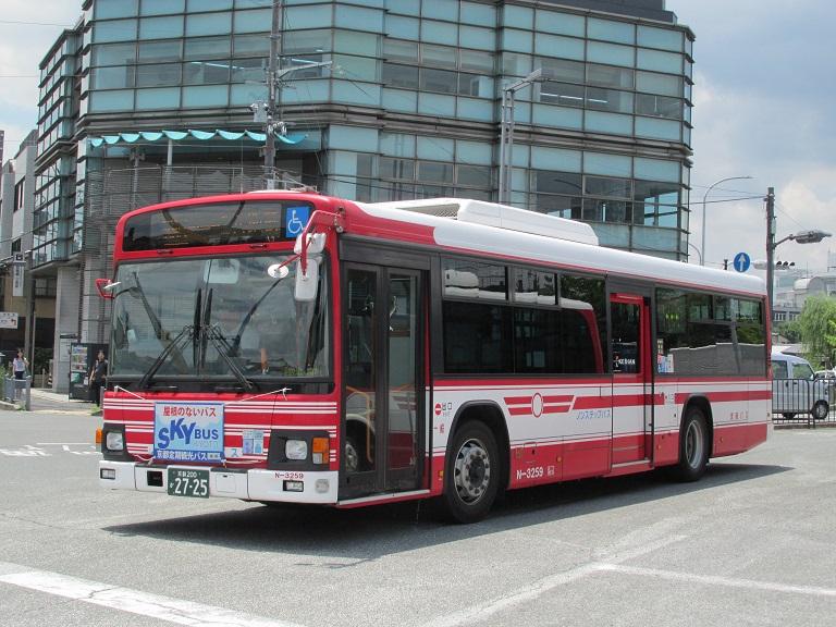 [2016年の夏][京都市] 京阪バス Phot1070