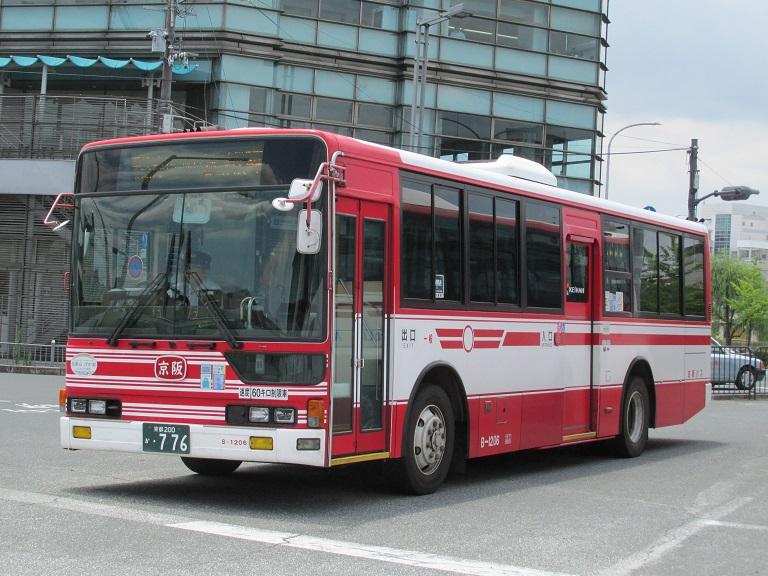 [2016年の夏][京都市] 京阪バス Phot1071