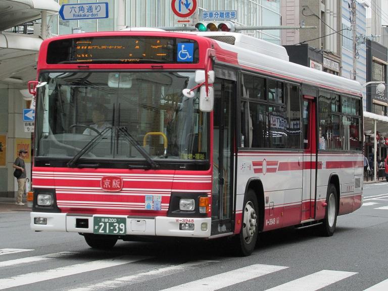 [2016年の夏][京都市] 京阪バス Phot1076