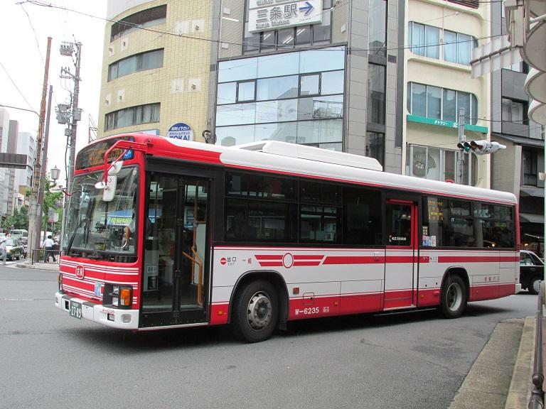 [2016年の夏][京都市] 京阪バス Phot1078
