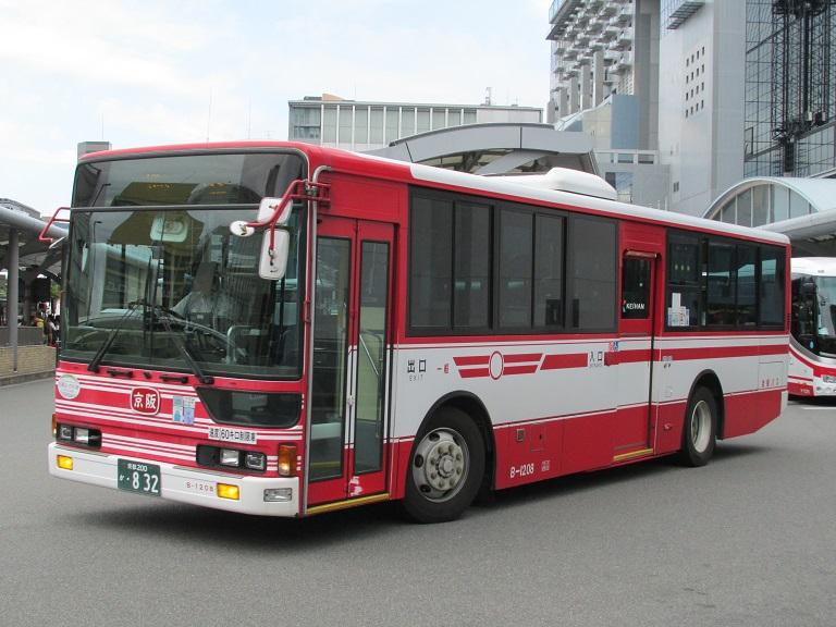 [2016年の夏][京都市] 京阪バス Phot1079