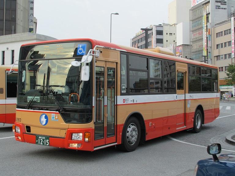 [2016年の夏][姫路市] 神姫バス Phot1095