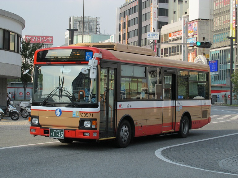 [2016年の夏][姫路市] 神姫バス Phot1120