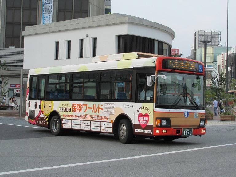 [2016年の夏][姫路市] 神姫バス Phot1125